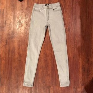 Miss guided grey jeans